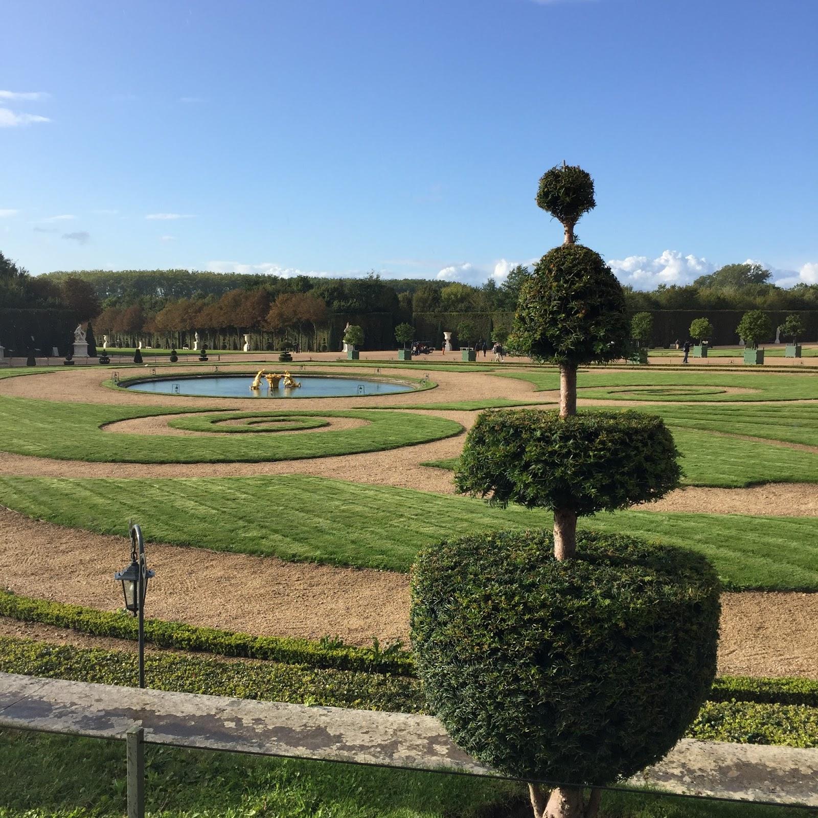 les jardins de versaille