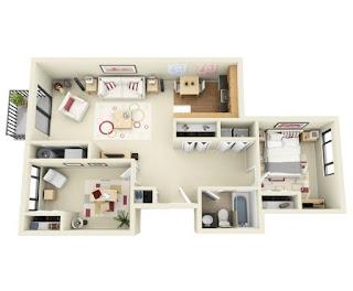 Mengakali rumah agar terlihat lebih luas