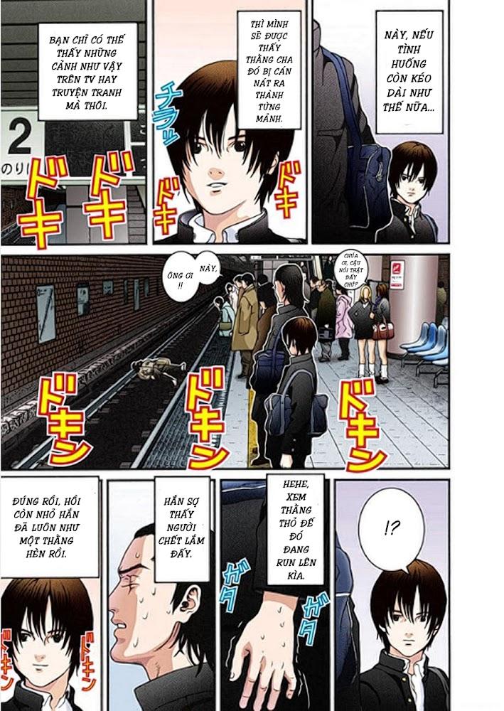 Gantz Chap 01: Tai nạn trang 14
