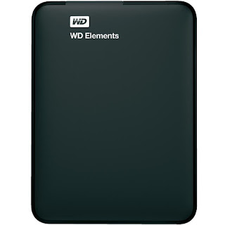 WD Elements 2TB Portable External Hard Drive