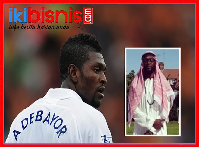 13 Alasan Emmanuel Adebayor Pilih Agama Islam