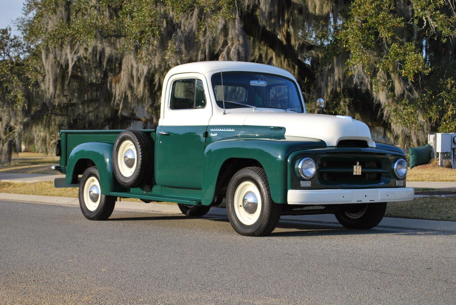 All American Classic Cars 1954 Ihc International R100 1 2 Ton Pickup Truck