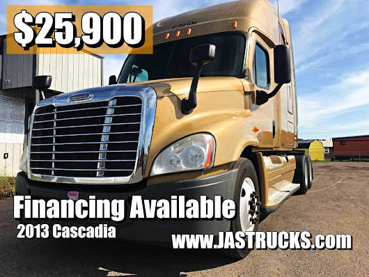 Used truck sales and truck finance for all credit types