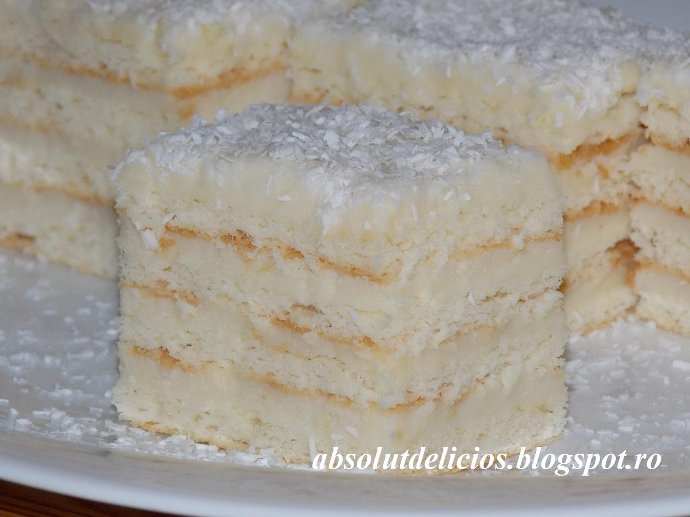 Absolut Delicios Retete Culinare Snow White Cake