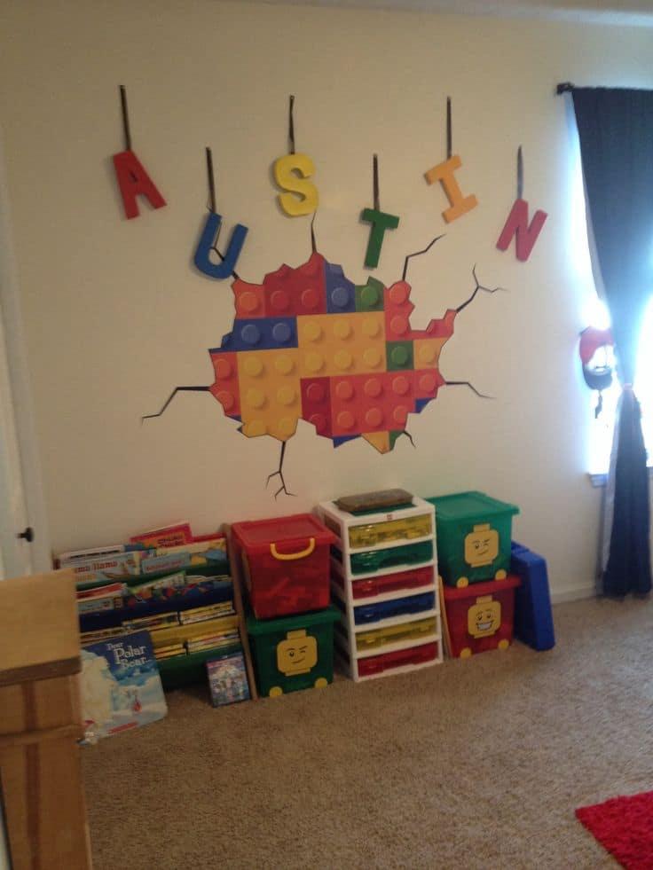 Lego bedroom decorating ideas