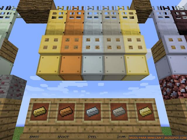 Imagen 1 - Base Metals Mod para Minecraft 1.8/1.8.9