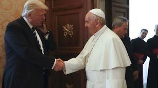 Πάπας Φραγκίσκος σε Τραμπ: Να γίνει ειρηνοποιός