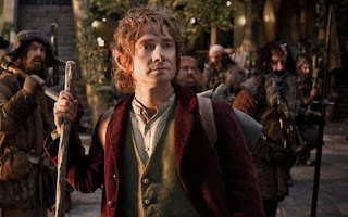 Martin Freeman in Peter Jackson's The Hobbit