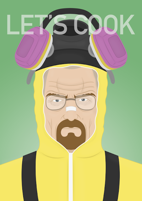 Walter White Let's Cook