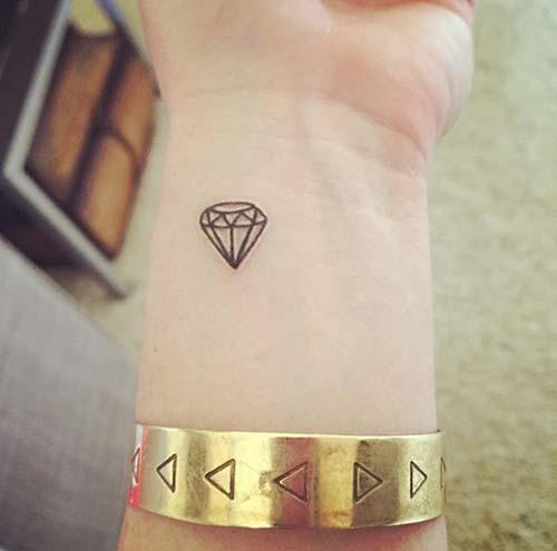 elmas dövmeleri bilek wrist diamond tattoos