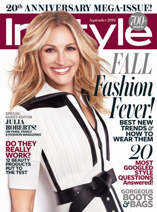 Julia Roberts Instyle September cover