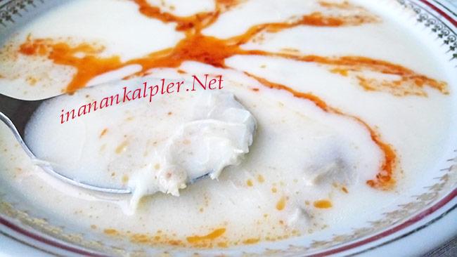 Yoğurtlu Tavuklu Düğün Çorbası - www.inanankalpler.net