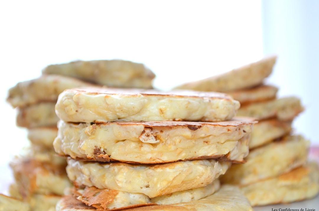 pancakes de régime - régime - alimentation équilibrée - flocon d'avoine - recette originale avec des flocons d'avoine - que faire avec des flocons d'avoine? - petit déjeuner équilibré - recette légère et rapide