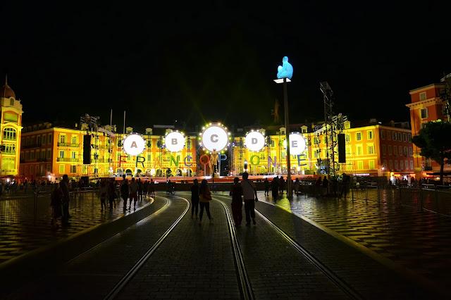 마쎄나 광장의 야경