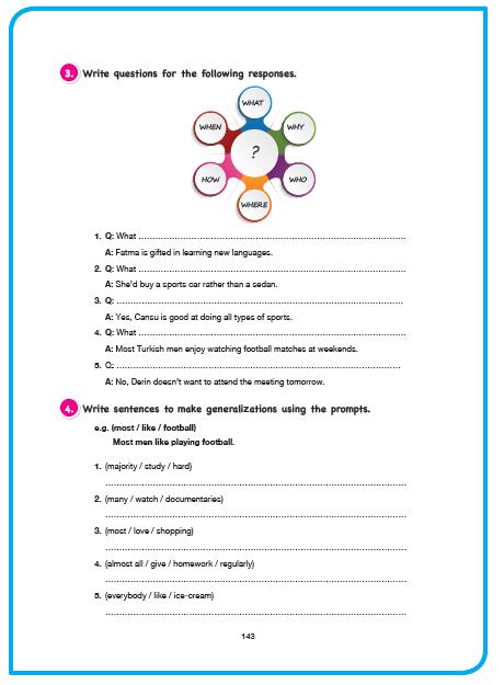 11. Sınıf Cem Veb Ofset Yayınları İngilizce Sunshine Ders Kitabı 143. Sayfa Cevapları Theme 5 Attention