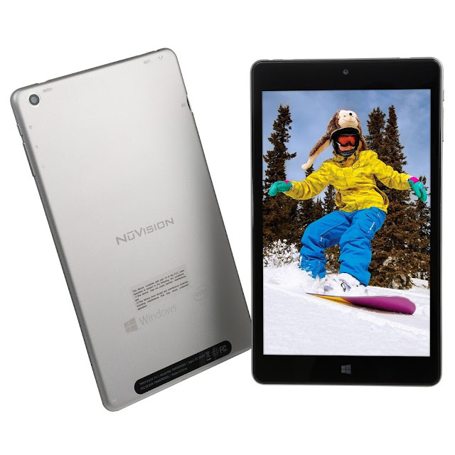 NuVision 8-inch Tablet
