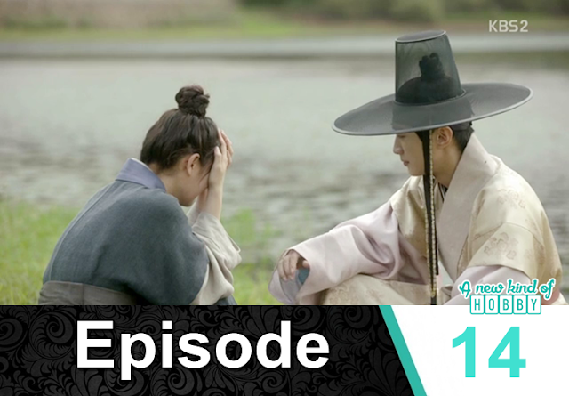 ra on crying near the river- Love In The Moonlight - Episode 14 Review (Eng Sub) - park bo gum & kim you jung