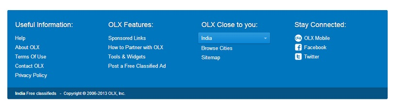 Olx how to contact