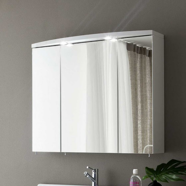Bathroom mirror medicine cabinet C