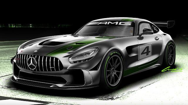Mercedes GT4-spec AMG GT