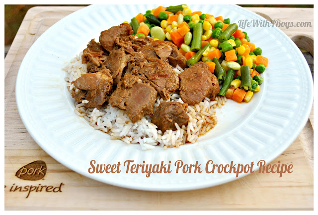 sweet teriyaki pork
