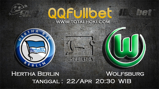 PREDIKSIBOLA - PREDIKSI TARUHAN HERTHA BERLIN VS WOLFSBURG 22 APRIL 2017 (BUNDESLIGA)