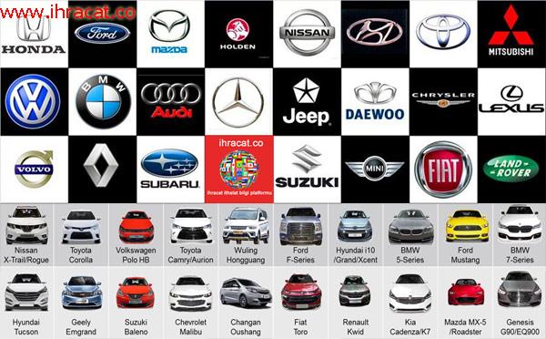en çok satan araba modelleri