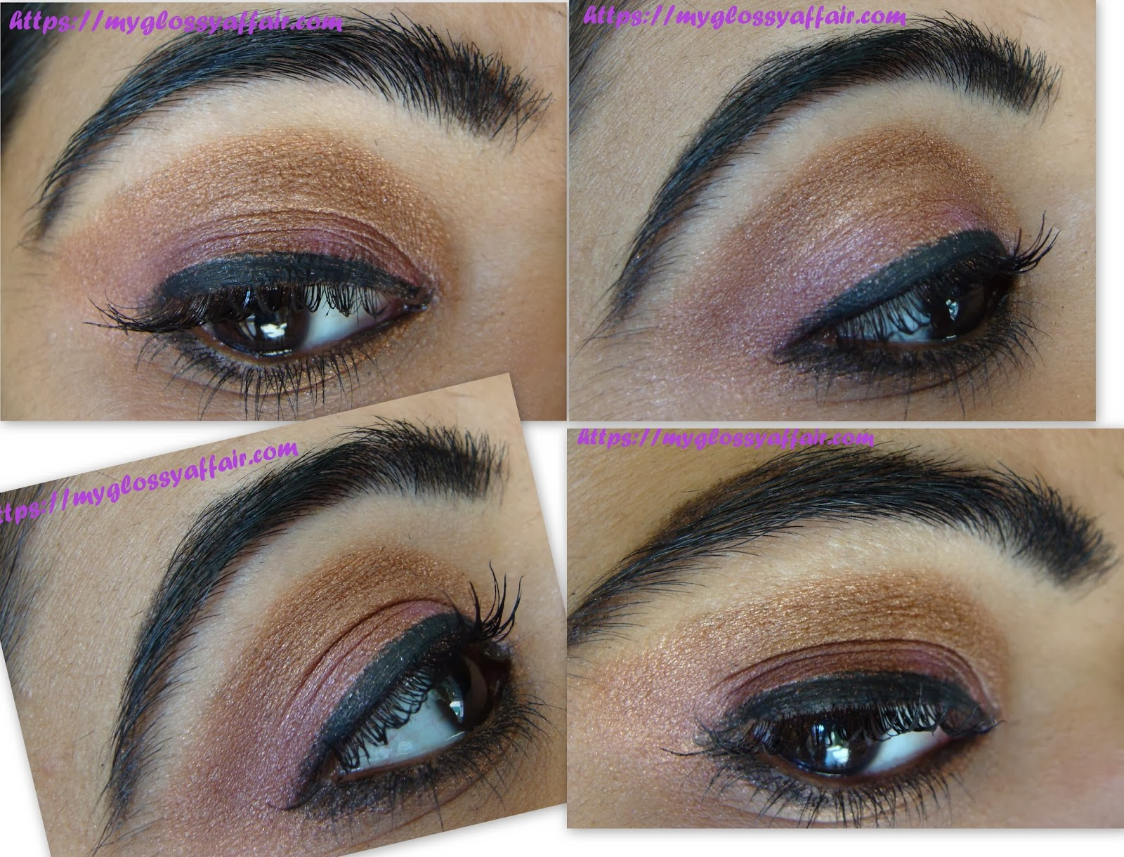 A Sexy Shimmery Brown Eye Makeup