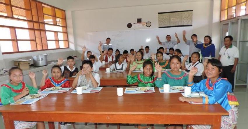 QALI WARMA: Programa social atiende a 559 escolares de la comunidad nativa de San Francisco en Ucayali - www.qaliwarma.gob.pe