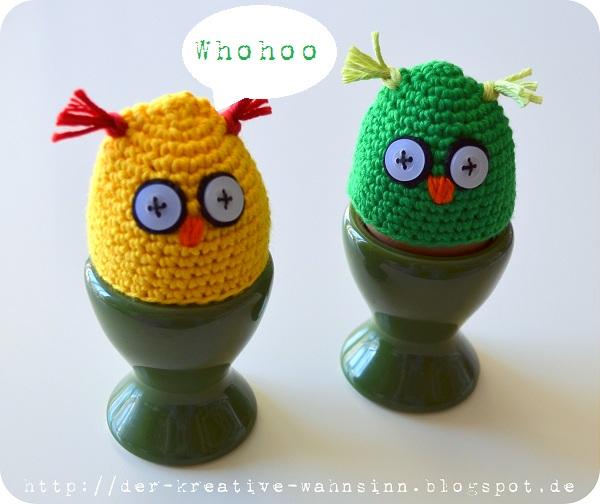 Der Kreative Wahnsinn Anleitung Für Die Eierwärmer