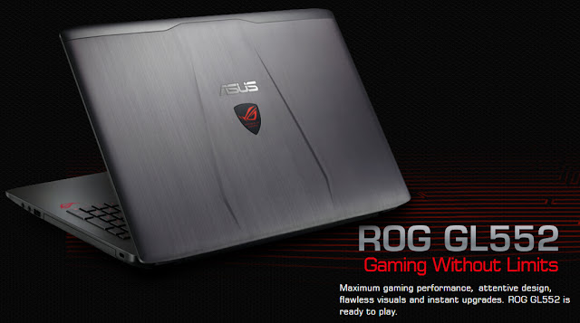 Laptop Gaming ASUS ROG GL552VW
