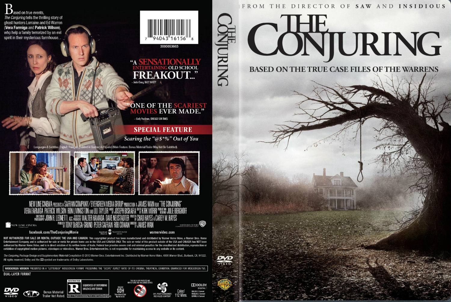 The Conjuring Hindi Dual Audio full movie download