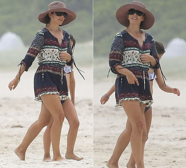 Princess Mary And Princess Isabella On The Beach In Byron Bay, More Photos