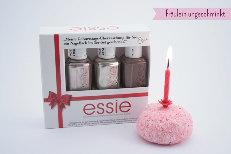 Essie Geburtstags Set Ein Jahr Essie Bei Dm Und Die