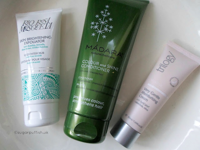 Monthly Mini Reviews February Green Beauty Products Love Lula Trilogy Madara Rio Rosa Mosqueta