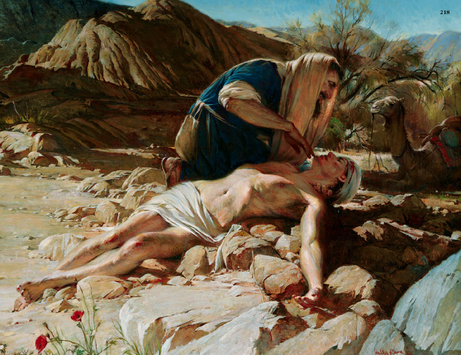 The example of the Good Samaritan, however, shows what Jesus wants of us.