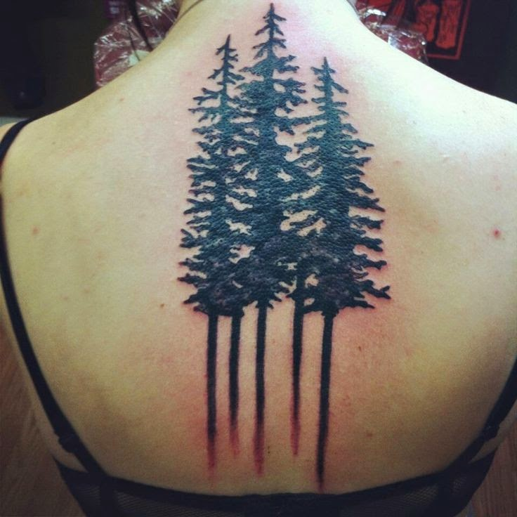 15 Beautiful Tree Tattoos For Girls On Back