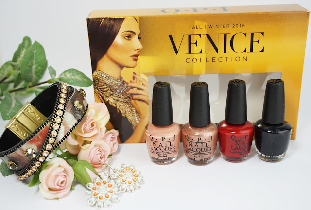OPI - VENICE Mini-Set (Herbst Kollektion 2015) A Great Opera-tunity Worth a Pretty Penne Amore at the Grand Canal My Gondola or Yours?