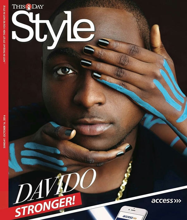 Davido covers ThisDay Style Magazine