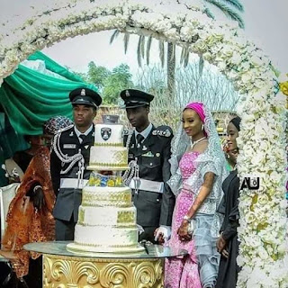 Son Of Emir Of Kano Weds His Lovely Bride in Styles.