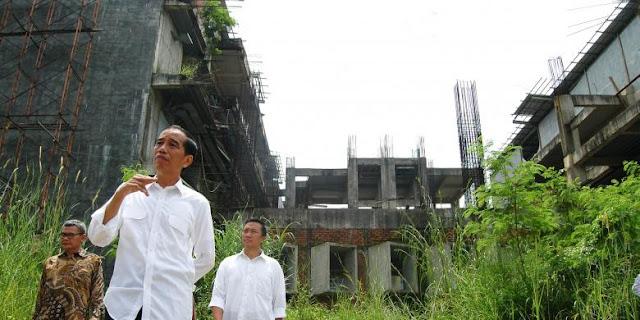 Jokowi: Sedih Melihat Hambalang Mangkrak, Harus diselamatkan!!