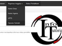 Upadate Registrasi Operator Sekolah Untuk Verval PD PAUD/TK /SD/SMP/SMA 2015