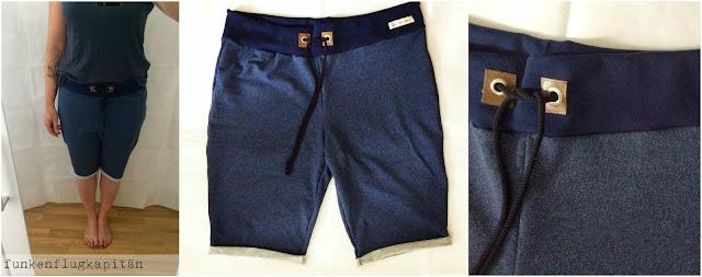 Shorts, Bermudas, kurze Hose, Sweat, nähen