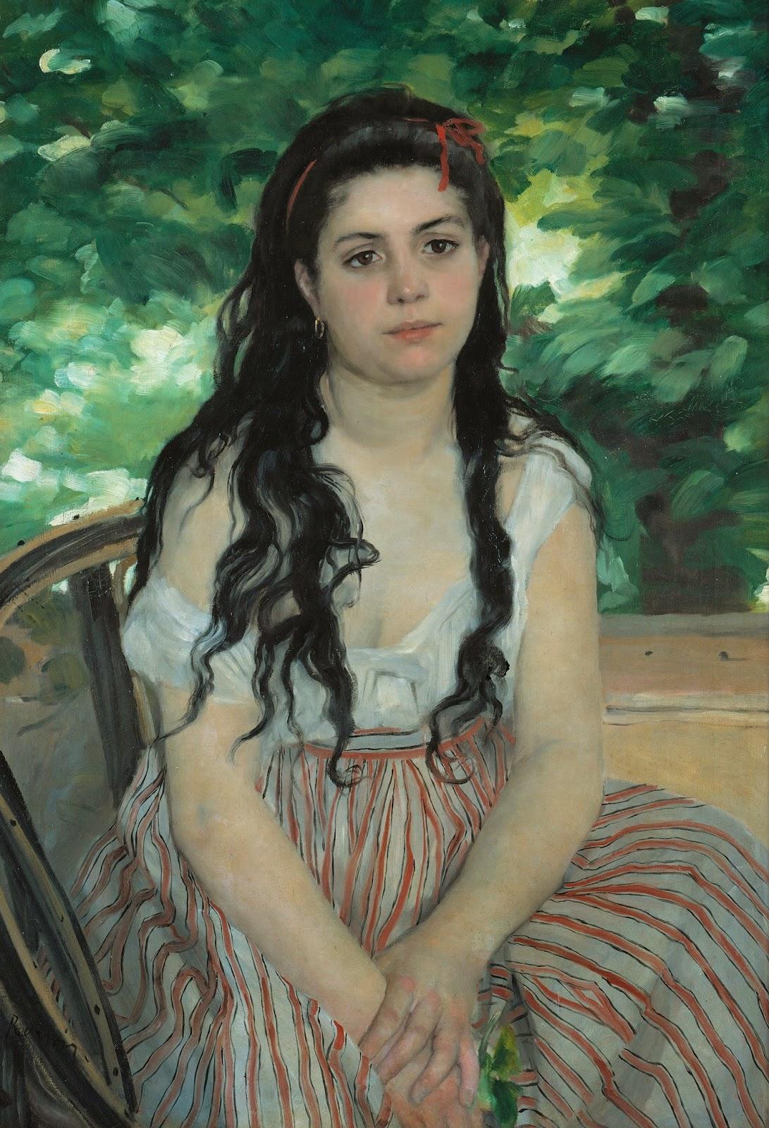 Stendhal syndrom im sommer renoir malt seine geliebte for Auguste renoir