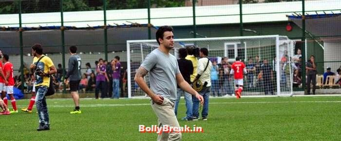 Imran Khan, Bollywood Celebs play football match for Aamir khan's daughter Ira Khan