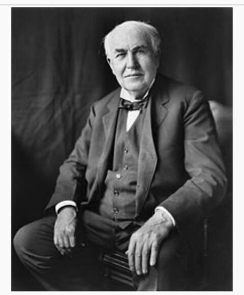 Thomas Alfa Edison Peletak Dasar Industri Musik Dan Perfilman Dunia
