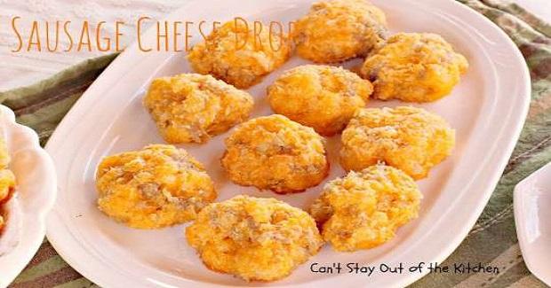Sausage Cheese Drops Recipe