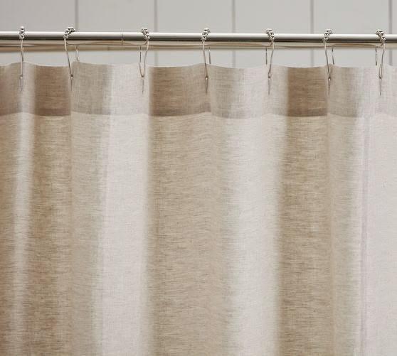 Thrifty 31 Blog DIY Drop Cloth Shower Curtain