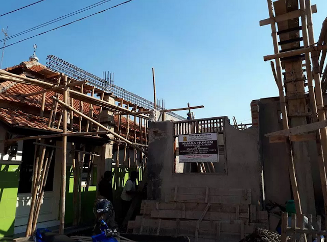 Pembangunan dan rehabilitasi Masjid Al-Arqom, di Krapyak, Pekalongan Utara, Kota Pekalongan