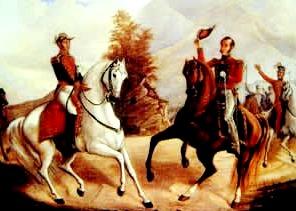 Imagen de la Batalla de Ayacucho a color